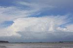 Cumulonimbus sur la mer