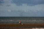 Buisson d'une trombe en cours de dissipation au large d'Asnelles/mer (14)