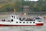 Mit der 'Etta von Dangast' nach Wilhelmshaven. Das Alte Kurhaus, Dangast