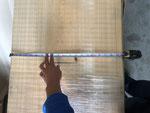 末口から500㎜ 巾600㎜木表寸法