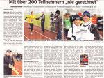 Halbmarathon in Ottobeuren 20.02.