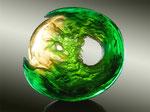 green moon sadness, 2016, 49x52x10 cm
