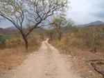 Esta carretera divide el lote por su mitad y comunica desde la carretera principal q une Cienaga con EL Rodadero hasta la nueva vía circunvalar en construcción.