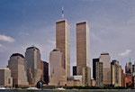 Worldtrade Center vor dem 11.September 2001 (Negativescan)