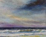 Blick aufs Meer (4) - Acryl auf Leinwand - 40x50 cm - 2016/2018