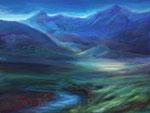 Morgenstimmung - Acryl auf Leinwand - 60x80 cm -2013