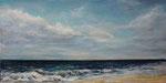Blick aufs Meer (7) - Acryl auf Leinwand - 50x100 cm - 2016