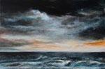 Am Meer (8) - Acryl auf Leinwand - 80x120 cm - 2016 (in Privatbesitz)