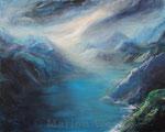 Nordische Landschaft - Acryl auf Leinwand - 80x100 cm - 2014