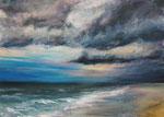 Sturm zieht auf - Acryl auf Leinwand - 50x70 cm - 2013