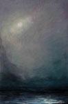 Am Abend - Acryl auf Leinwand - 80x120 cm - 2014/2019 (in Privatbesitz)