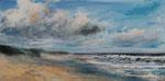 Am Meer (13) - Acryl auf Leinwand - 30x60 cm  (Probeaufnahme)