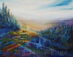 Bergwald - Acryl auf Leinwand - 70x90 cm - 2013