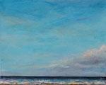 Ruhige See (5) - Acryl auf Leinwand - 40x50 cm - 2014/2018