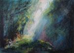 Waldstimmung (1) - Acryl auf Leinwand - 50x70 cm - 2013
