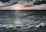 Nach dem Sturm (4) - Acryl auf Leinwand - 70x100 cm - 2015 (in Privatbesitz)