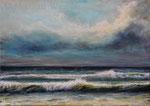 Am Meer (10) - Acryl auf Leinwand - 50x70 cm - 2019