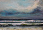 Am Meer (10) - Acryl auf Leinwand - 50x70 cm - 2019 (in Privatbesitz)