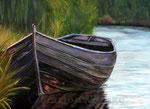 Boot - Acryl auf Leinwand- 50x70 cm - 2011 (in Privatbesitz)