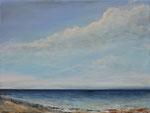 Ruhige See (6) - Acryl auf Leinwand - 30x40 cm - 2015 (in Privatbesitz)
