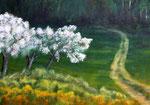 Frühling - Acryl auf Leinwand - 50x70 cm - 2012