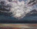 Vor dem Sturm - Acryl auf Leinwand - 80x100 cm - 2013