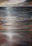 Nordsee (2) - Acryl auf Leinwand - 70x50 cm - 2016 (in Privatbesitz)