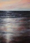 Abendrot - Acryl auf Leinwand - 70x50 cm - 2015/2017 (in Privatbesitz)