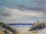 Dünenblick  - Acryl auf Leinwand - 18x24 cm - 2019