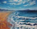 Meer (2) - Acryl auf Leinwand - 70x90 cm - 2013 - (in Privatbesitz)