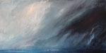 Regenstimmung (1) - Acryl auf Leinwand - 50x100 cm - 2014