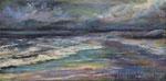 Schlechtwetter - Acryll auf Leinwand - 30x60 cm - 2020