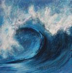 Welle - Acryl auf Leinwand - 40x40 cm - 2014 (in Privatbesitz)