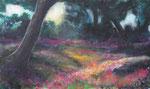 Waldstimmung (2) - Acryl auf Leinwand - 60x100 cm - 2015