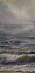 Am Meer (5) - Acryl auf Leinwand - 30x60 cm - 2014/2018