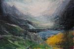 In den Bergen - Acryl auf Leinwand - 80x120 cm - 2014