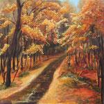 Herbst - Acryl auf Leinwand - 50x50 cm - 2012 (in Privatbesitz)
