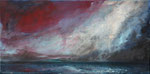 Regenstimmung (2) - Acryl auf Leinwand - 30x60 cm - 2015 (in Privatbesitz)