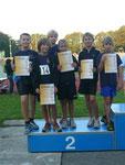 Schüler C Gruppe 1  2.Platz Andreas, Tobias, Simon, Max, Carlos, David (nicht im Bild Simeon)