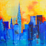 New York - 90x90 cm
