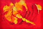 Wow rood - 120x80 cm