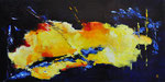 Splash of colours - 120x60 cm