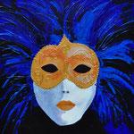 Masker Venetië 3 - 60x60 cm