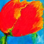 Flower power 1 - 120x120 cm