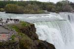 アメリカ側より:カナダ滝
