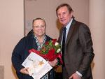 Teresa Simonutti con il Presidente Regionale CONI Giorgio Brandolin