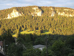 Rochers du Midi - vue de Vellerat