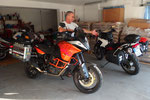 Ganz in Orange - die neue KTM 1190 Adventure