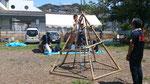 2014年7月、「五角錐形からくり装置」(福田 護、白木 正純)