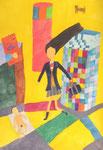2014 『SHIBUYA』  51.5cm×36.4cm